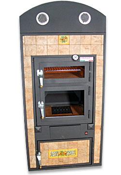 Forni a legna caesar agrigento sicilia tel e fax 0922 918369 forni da interno - Forno a legna interno ...