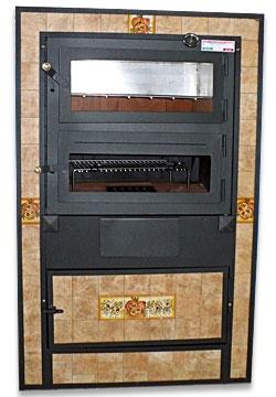 Forni da incasso interno ed esterno forni a legna caesar - Forno a legna interno ...