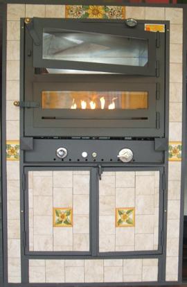 Forni a legna caesar agrigento sicilia tel e fax 0922 918369 forni a gas - Forno a incasso a gas ...